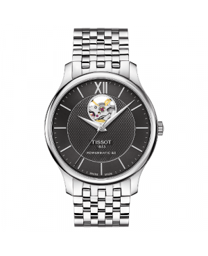 TISSOT T063.907.11.058.00 Tradition Powermatic 80 Open Heart (T0639071105800)