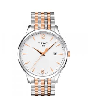Klasyczny zegarek męski TISSOT Tradition T063.610.22.037.01 (T0636102203701)