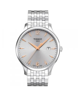 Klasyczny zegarek męski TISSOT Tradition T063.610.11.037.01 (T0636101103701)