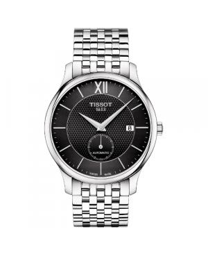 Elegancki zegarek męski TISSOT Tradition Automatic Small Second T063.428.11.058.00 (T0634281105800)