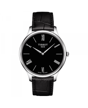 Elegancki zegarek męski TISSOT Tradition T063.409.16.058.00 (T0634091605800)