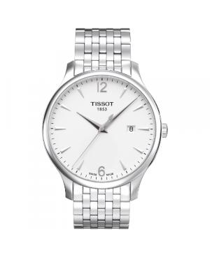 Klasyczny zegarek męski TISSOT Tradition T063.610.11.037.00 (T0636101103700)