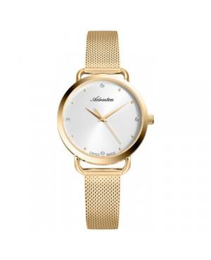 Szwajcarski, biżuteryjny zegarek  damski ADRIATICA A3730.1143Q (A37301143Q)