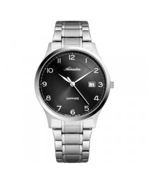 Szwajcarski, klasyczny zegarek męski ADRIATICA A8305.5124Q (A83055124Q)