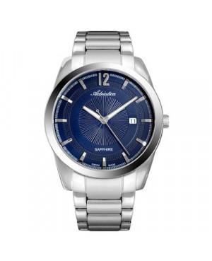 Szwajcarski,  klasyczny zegarek męski ADRIATICA A8301.5155Q (A83015155Q)