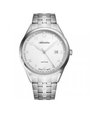 Szwajcarski, klasyczny zegarek męski ADRIATICA A8260.5123Q (A82605123Q)