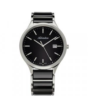 Szwajcarski, klasyczny zegarek  męski ADRIATICA A1249.E114Q (A1249E114Q)