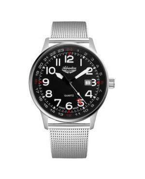 Szwajcarski, klasyczny zegarek lotniczy męski ADRIATICA Aviator A1067.5124Q (A10675124Q)