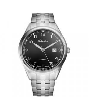 Szwajcarski,  klasyczny zegarek męski ADRIATICA A8260.5126Q (A8260.5126Q)