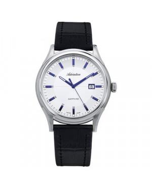 Szwajcarski,klasyczny zegarek męski ADRIATICA A2804.52B3Q (A280452B3Q)
