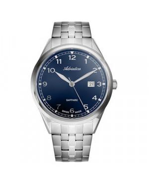 Szwajcarski, klasyczny zegarek  męski ADRIATICA A8260.5125Q (A82605125Q)