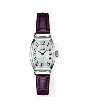 TISSOT T128.109.16.032.00 Porto Small lady zegarek damski klasyczny elegancki szwajcarski kwarcowy na pasku heritage z cyframi
