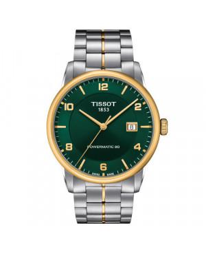 Klasyczny zegarek męski TISSOT LUXURY POWERMATIC 80 T086.407.22.097.00 (T0864072209700)