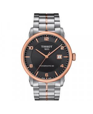 Klasyczny zegarek klasyczny męski TISSOT LUXURY POWERMATIC 80 T086.407.22.067.00 (T0864072206700)
