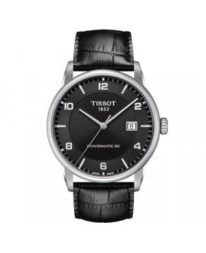 Klasyczny zegarek męski TISSOT LUXURY POWERMATIC 80 T086.407.16.057.00 (T0864071605700)