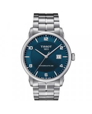 Szwajcarski, klasyczny zegarek męski TISSOT LUXURY Powermatic 80 T086.407.11.047.00 (T0864071104700)