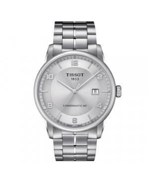 Klasyczny zegarek męski TISSOT LUXURY Powermatic 80 T086.407.11.037.00 (T0864071103700)