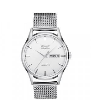 Szwajcarski, klasyczny zegarek męski TISSOT Heritage Visodate Automatic T019.430.11.031.00 (T0194301103100)