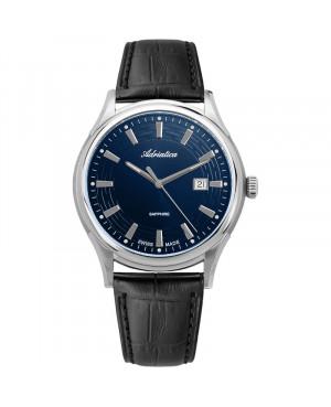 Szwajcarski, klasyczny zegarek męski ADRIATICA A2804.5215Q (A28045215Q)