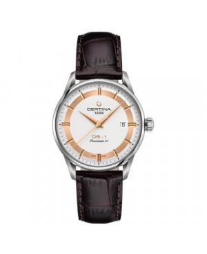 Szwajcarski, klasyczny zegarek męski Certina DS-1 Powermatic 80 Himalaya Special Edition C029.807.16.031.60 (C0298071603160)