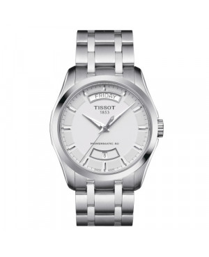 Elegancki zegarek męski TISSOT Couturier Powermatic 80 T035.407.11.031.01 (T0354071103101)