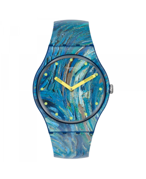 SWATCH SUOZ335 MoMA THE STARRY NIGHT BY VINCENT VAN GOGH