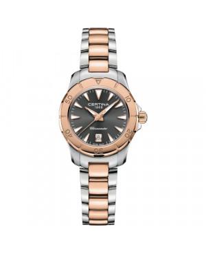 Szwajcarski, biżuteryjny zegarek damski CERTINA DS ACTION C032.951.22.081.00 (C0329512208100)