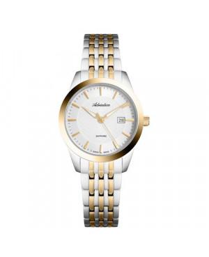 Szwajcarski, biżuteryjny zegarek damski ADRIATICA A3188.2113Q (A31882113Q)