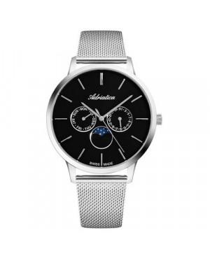 Szwajcarski,biżuteryjny zegarek męski ADRIATICA A1274.5114QF (A12745114QF)