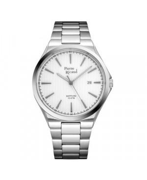 Klasyczny zegarek męski PIERRE RICAUD P91069.5113Q (P910695113Q)
