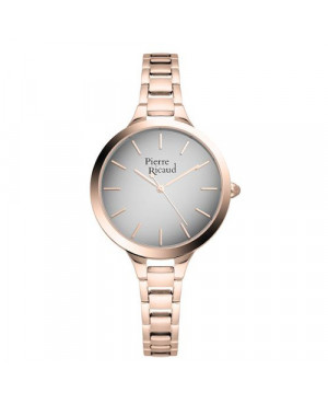 Modowy zegarek damski PIERRE RICAUD P22047.9117Q (P220479117Q)