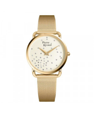 Modowy zegarek damski PIERRE RICAUD P21066.1141Q (P210661141Q)