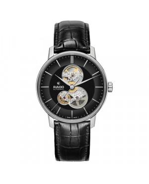 Szwajcarski elegancki zegarek męski RADO Coupole Classic Open Heart Automatic R22894155