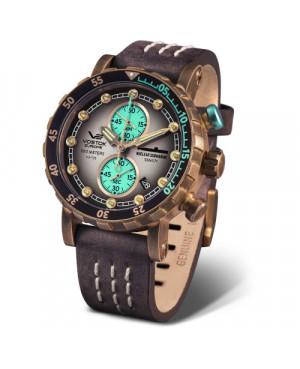 Sportowy zegarek męski VOSTOK EUROPE Nuclear Submarine SSN 571 VK61/571O613 (VK61571O613)