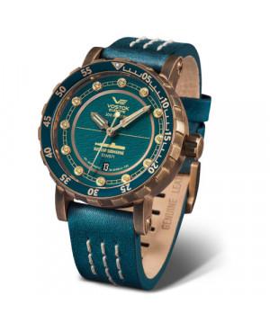 Sportowy zegarek męski VOSTOK EUROPE Nuclear Submarine SSN 571 NH35A/571O609 (NH35A571O609)