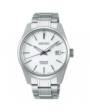 Klasyczny zegarek męski SEIKO SPB165J1 Presage Sharp Edged Series