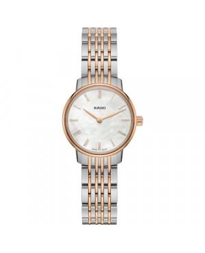 Szwajcarski elegancki zegarek damski RADO Coupole Classic R22897933 Zegarek ze szkłem szafirowym