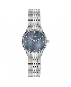 Szwajcarski elegancki zegarek damski RADO Coupole Classic Diamonds R22897903