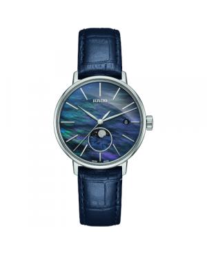 Szwajcarski elegancki zegarek damski RADO Coupole Classic R22883915 Zegarek ze szkłem szafirowym