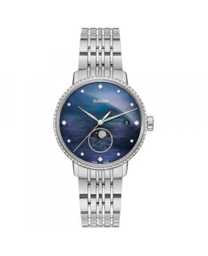 Szwajcarski elegancki zegarek damski RADO Coupole Classic Diamonds R22882903