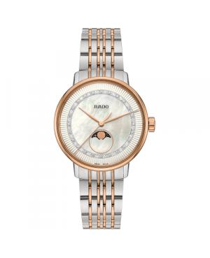 Szwajcarski elegancki zegarek damski RADO Coupole Classic Diamonds R22883953