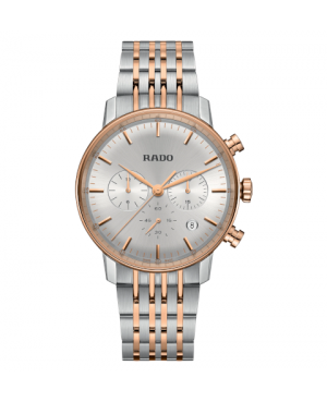 Szwajcarski klasyczny zegarek męski RADO Coupole Classic Chronograph R22910123 Odporne na zarysowania szkło szafirowe