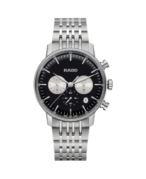 Szwajcarski klasyczny zegarek męski RADO Coupole Classic Chronograph R22910153