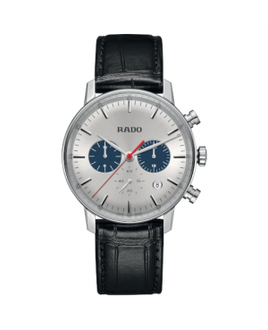Szwajcarski klasyczny zegarek męski RADO Coupole Classic Chronograph R22910115