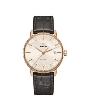 Szwajcarski klasyczny zegarek męski RADO Coupole Classic Automatic R22861115 Odporne na zarysowania szkło szafirowe
