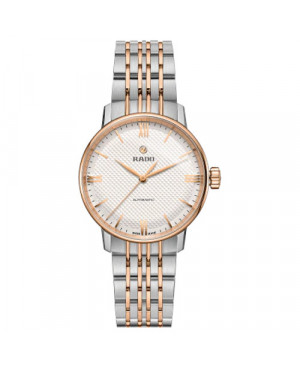Szwajcarski klasyczny zegarek damski RADO Coupole Classic Automatic  R22862067 Odporne na zarysowania szkło szafirowe