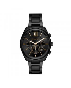 Modowy zegarek męski MICHAEL KORS Runway MK7110 czarny zegarek