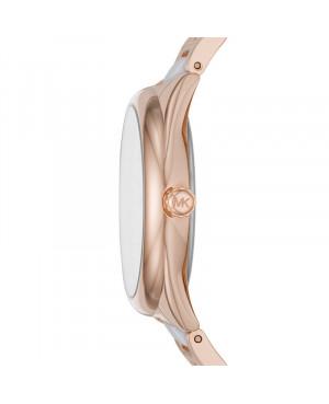zegarek w kolorze różowego złota męski MICHAEL KORS Janelle MK7134