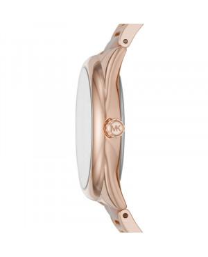 zegarek damski w kolorze różowego złota MICHAEL KORS Janelle MK7135