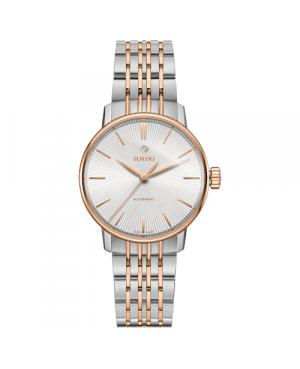 Szwajcarski elegancki zegarek damski RADO Coupole Classic Automatic  R22862027 Odporne na zarysowania szkło szafirowe